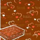 包装紙 チョコハート
